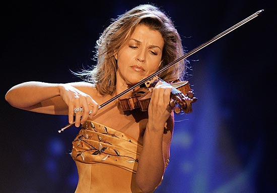 Anne Sophie-Mutter and Violin Tone