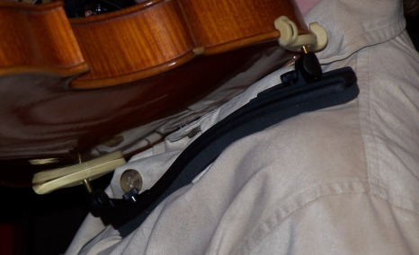 The Best Position for a Violin Shoulder Rest