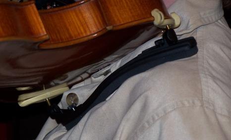 The Best Position for a Violin Shoulder Rest